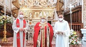 PENTECOSTE, INIZIAZIONE CRISTIANA PER QUATTRO RAGAZZI DALL'AFRICA