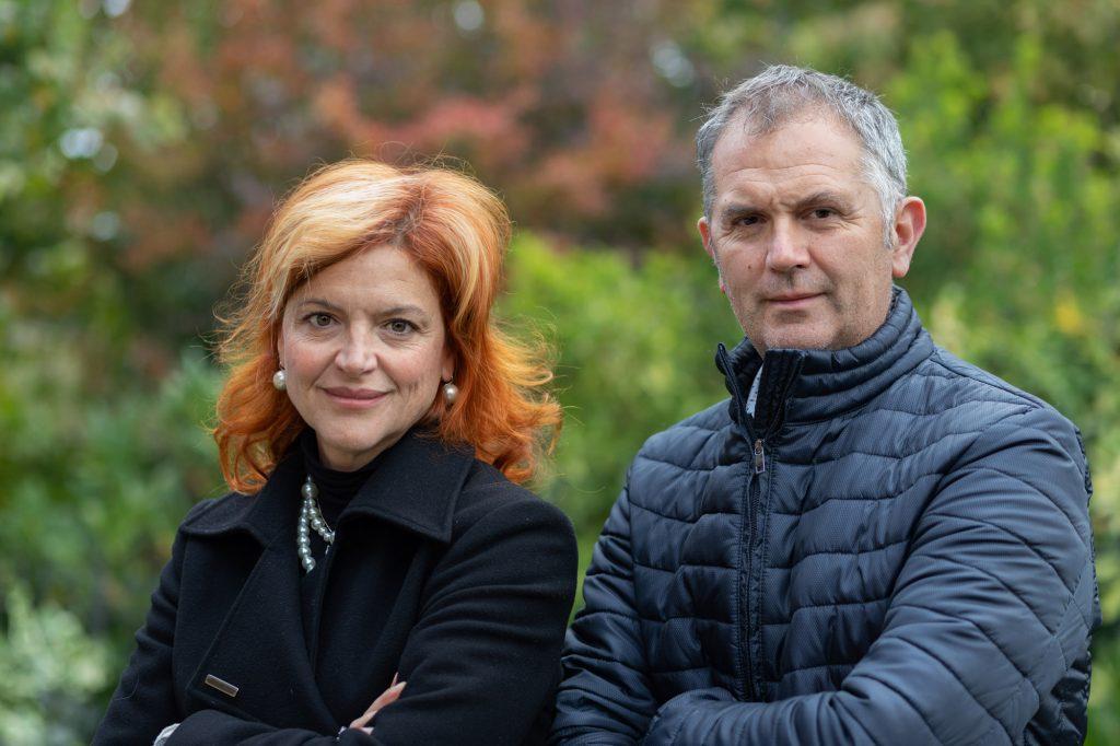 Antonello Perin und Cristina Treccani
