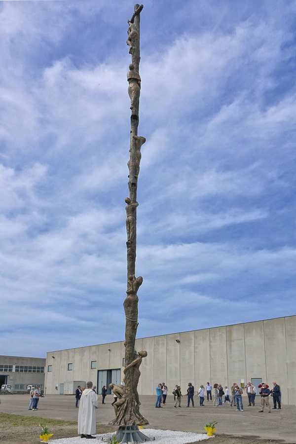 Malcesine: 18-Meter-Kreuz