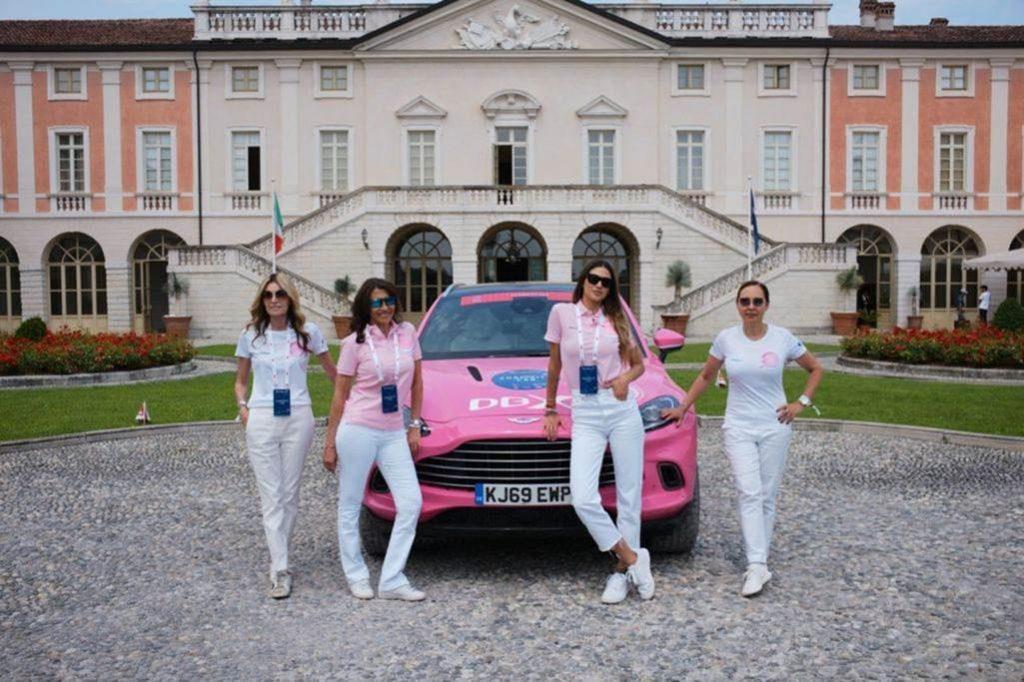 1000 Miglia Pink Car
