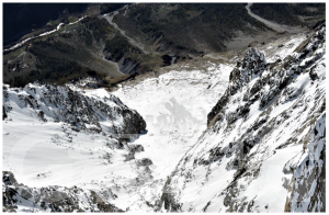 Courmayeur, seracco Whymper: dalle Gransdes Jorasses crollo di 15 mila metri cubi di ghiaccio