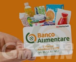 Banco Alimentare: la Colletta si fa acquistando le CARD