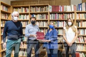 Courmayeur, alla biblioteca la Divina Commedia di Mimmo Paladino
