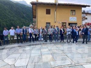 Valle d'Aosta, ministra Cartabia: «Ollomont significa casa, qui riscopro dimensioni autentiche della vita»