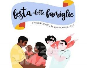 Aosta: festa per le famiglie al parco Puchoz sabato 28 agosto