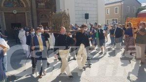 Aosta, San Grato: torna la processione in centro dopo un anno di stop causa Covid