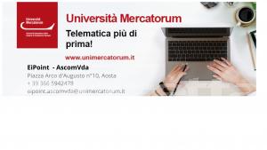 Una università flessibile e in linea con le tue esigenze: scoprila attraverso l'Ei – Point AscomVda Mercatorum