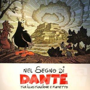 Nel segno di Dante, tra illustrazione e fumetto al Forte di Bard