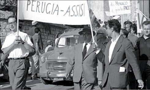 In ricordo di Aldo Capitini  Instancabile apostolo della pratica nonviolenta