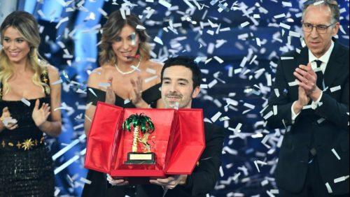 """Il trionfo a Sanremo di Diodato che """"fa rumore"""" per Taranto"""