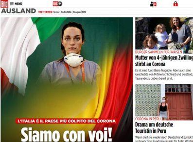 """""""Cara Italia, piangiamo con voi: ci avete insegnato l'amore"""""""