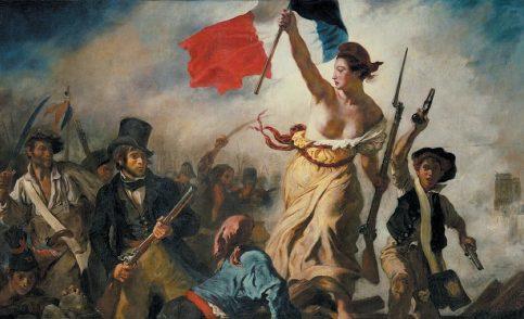 La celebre tela di Delacroix e la copertina di Rolling Stone: quando la storia si ripete