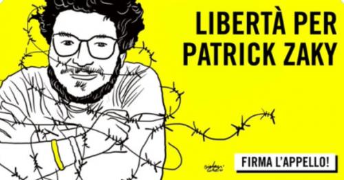 Patrick Zaky vorrebbe tornare a Bologna. Lo scrive in una lettera dal carcere