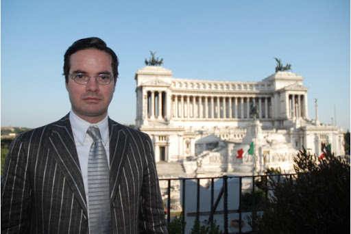 Klaus Davi, aspirante sindaco di Reggio Calabria