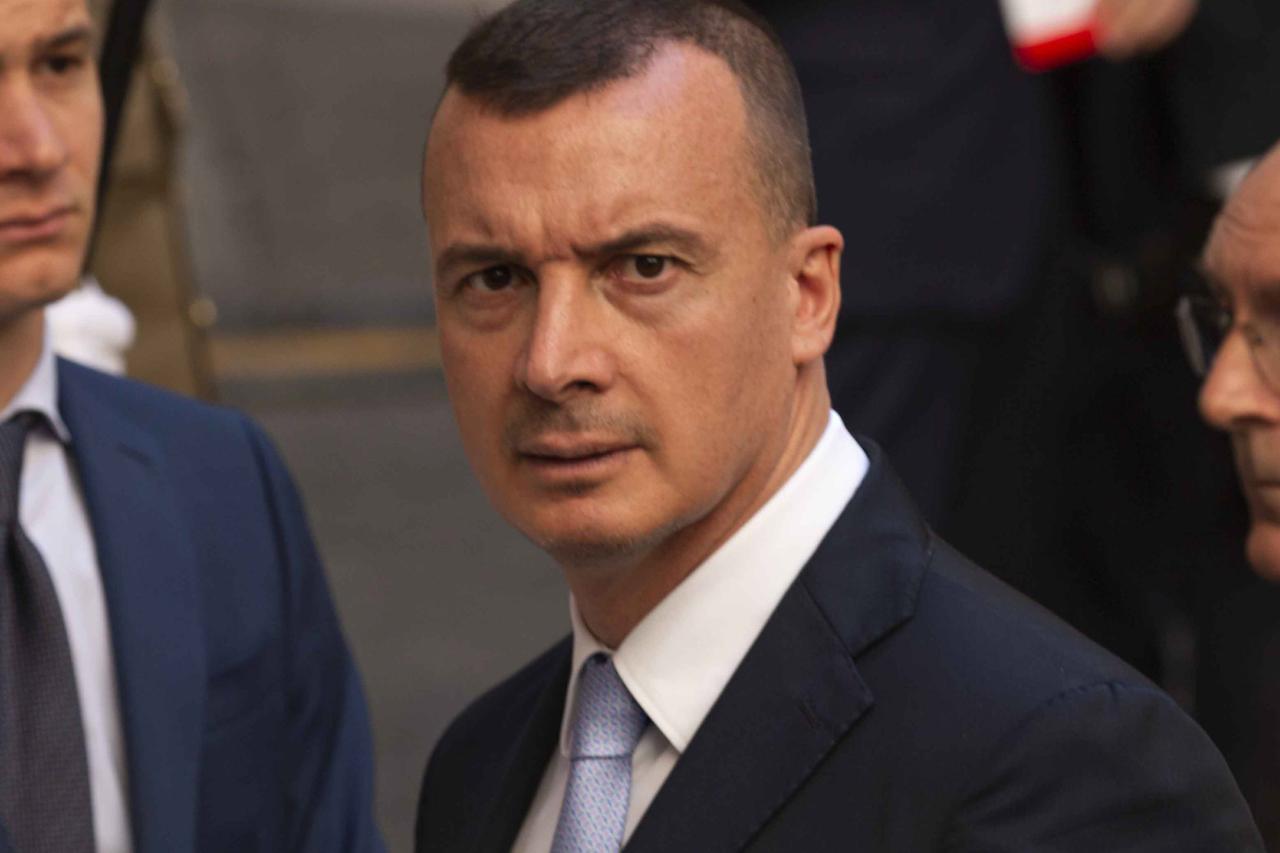 Rocco Casalino, portavoce di Palazzo Chigi