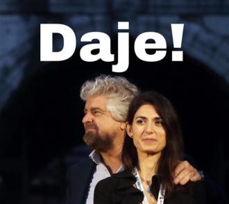 """""""Daje Virgì!"""": Beppe Grillo ha detto sì"""