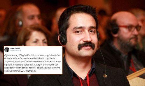 L'urlo di Nihat Ünsal: «Non lasciate che mio figlio muoia»