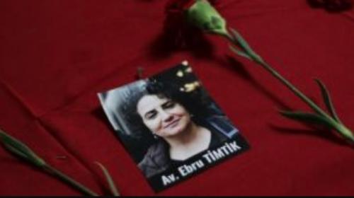 Il cordoglio di tutta l'avvocatura italiana per la morte della collega Ebru Timtik