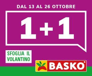1+1 = Basko, fino al 26 ottobre