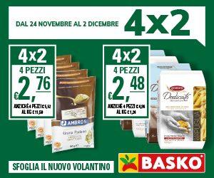 Solo da Basko trovi il 4x2 - fino al 2 dicembre