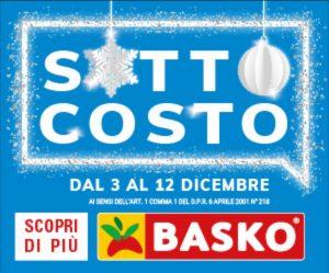 Da Basko c'è il SottoCosto di Natale